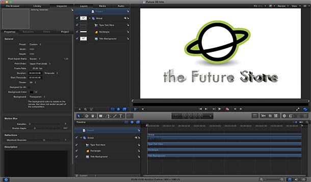 Final Cut Pro X 10 2 Update The Future Store
