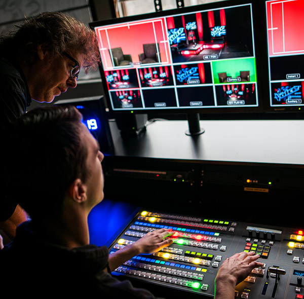 GLR televisiestudio ATEM2