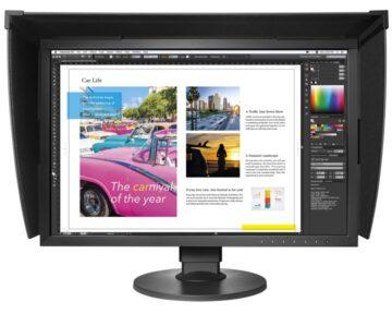 "Eizo CG2420 24"" Hardware Calibration LED Monitor [ DVI HDMI DisplayPort 1920x1200 ] - the Future Store"