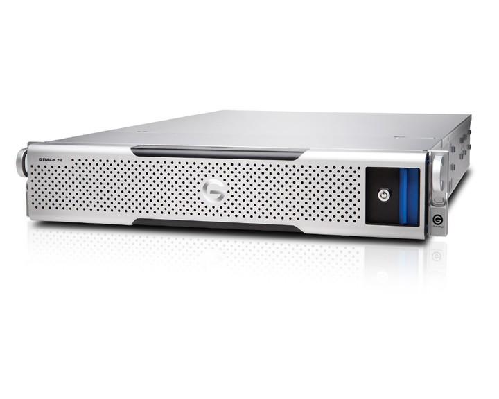 G-Technology G-RACK 12 48TB [ 4x10GbE Dual PS ] - the Future Store