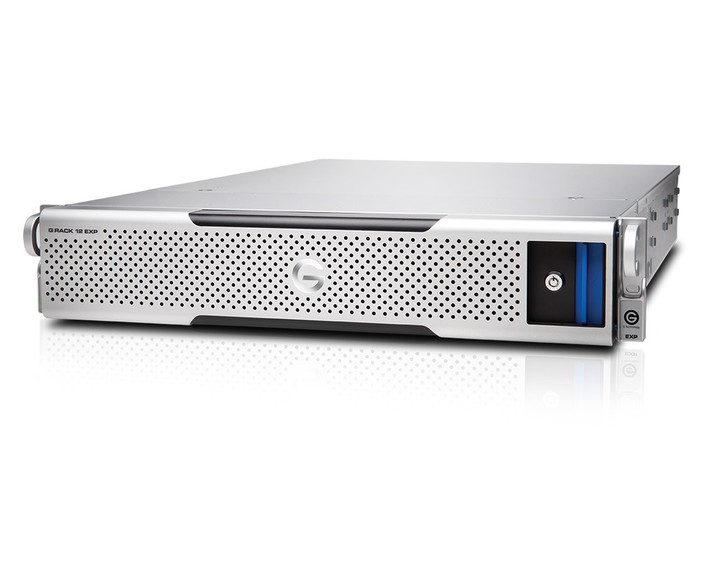 G-Technology G-RACK 12 Expansion 72TB [ Dual PS ] - the Future Store
