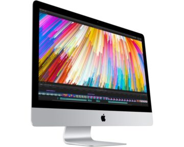"Apple iMac 27"" 5K 3.5GHz QuadCore i5 [ 8GB 1TB Fusion Radeon Pro 575 TB3 ] - the Future Store"