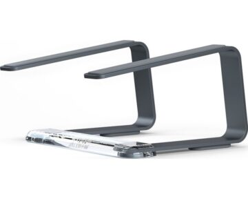 Griffin Elevator Laptop Stand [ Space Grey ] - the Future Store