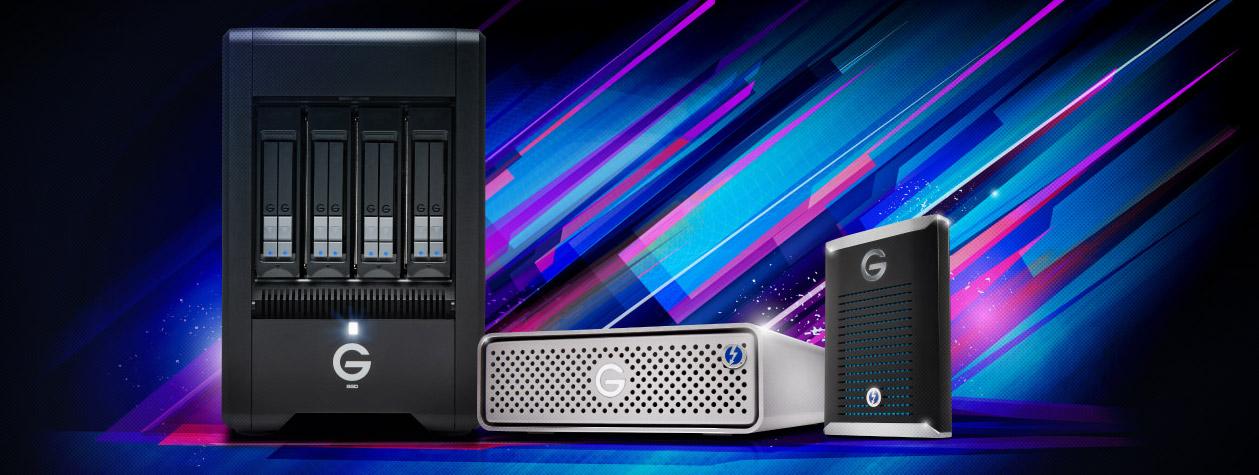 Snelle externe storage met Thunderbolt 3