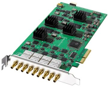 Blackmagic Design DeckLink Quad 2 [ 8 SDI in/out ] - the Future Store