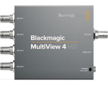 Blackmagic Design MultiView 4 HD - the Future Store