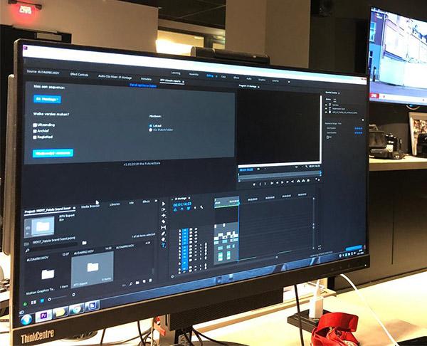 Adobe Premiere Pro panel