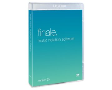 MakeMusic Finale 25 Upgrade