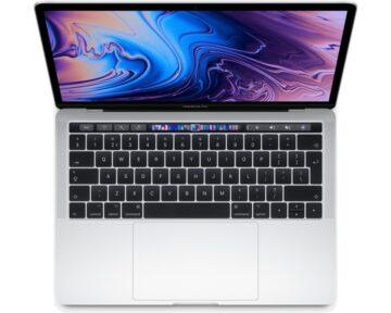 "Apple MacBook Pro 13"" Touch Bar 2.3GHz i5 [ 8GB 256GB Silver ]"