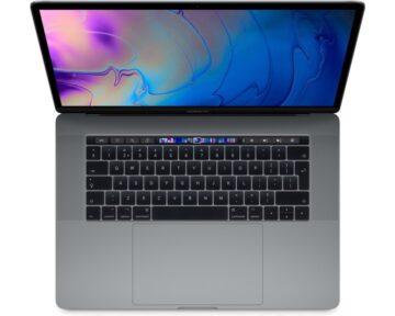 "Apple MacBook Pro 15"" 2.2GHz 6-core i7 [ 16GB 256GB Space Gray ]"