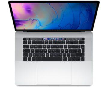 """Apple MacBook Pro 15"""" 2.6GHz 6-core i7 [ 16GB 512GB Silver ]"""