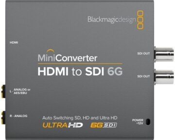 Blackmagic Design Mini Converter HDMI to SDI 6G