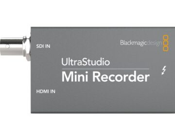 Blackmagic Design UltraStudio Mini Recorder [ Thunderbolt ]