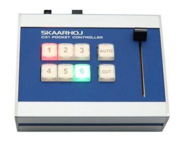 Skaarhoj C31 [ 6 Buttons + Slider]