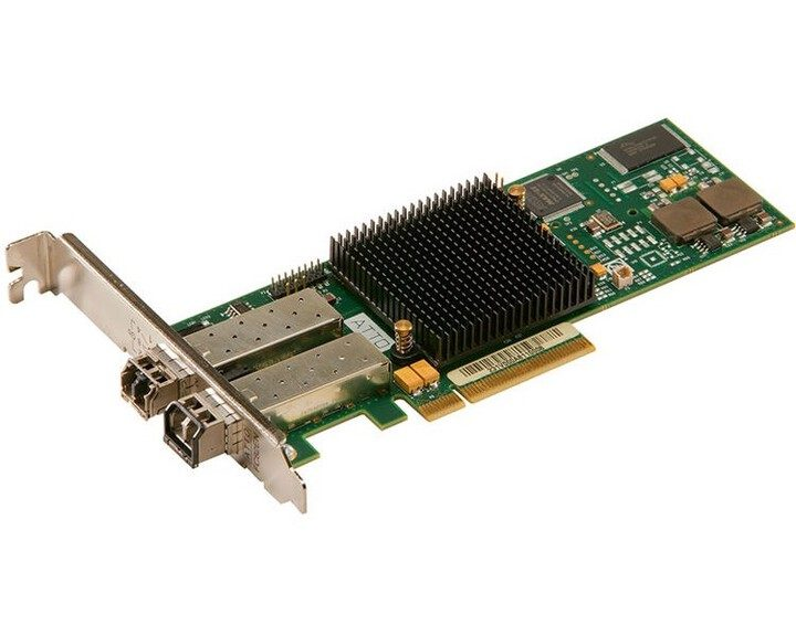 ATTO Celerity FC-322E Fibre Channel Card [ Dual-Channel 32Gb ]