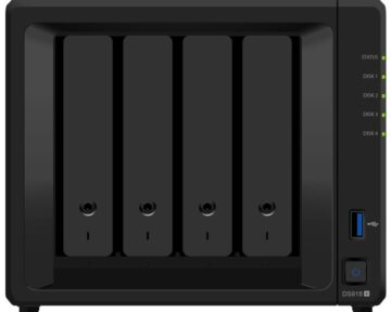 Synology DS918+ [ 4 bay sata NAS ]