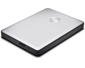 G-Technology G-DRIVE Mobile 1TB [ USB 3 ]