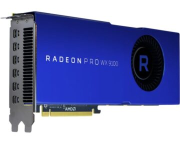 AMD Radeon Pro WX 9100 Graphic Card