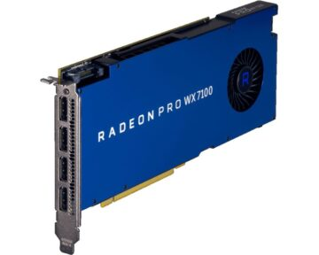 AMD Radeon Pro WX 7100 Graphic Card