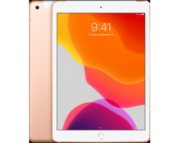 Apple iPad 10.2 WiFi + Cellular 128GB [ 7th Generation Gold ]