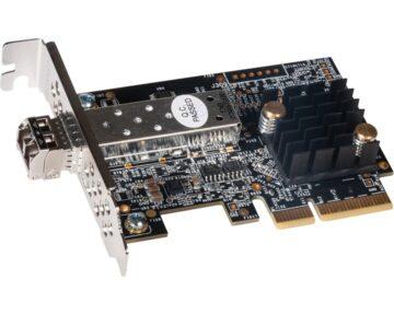 Sonnet Solo 10G Card [ 10GbE SFP+ - PCIe ]