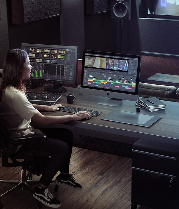 DaVinci Resolve 16 event