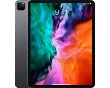 "Apple iPad Pro 12.9"" 4th gen [ Space Gray | 256GB | Wi-Fi + Cellular ]"