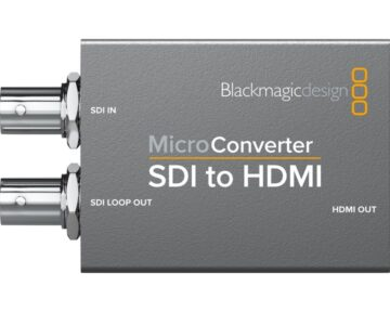 Blackmagic Design Micro Converter - SDI to HDMI [ incl. Power Supply ]