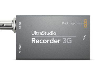 Blackmagic Design UltraStudio Recorder 3G [ Thunderbolt3 ]