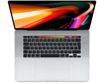 """Apple MacBook Pro 16"""" 2,6GHz 6-core i7 [ 16GB 512GB Silver ]"""