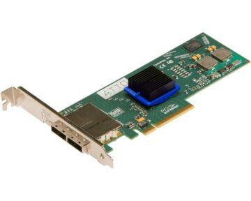 ATTO ExpressSAS H680 [ PCIe 6Gb 8x external Mini SAS ]
