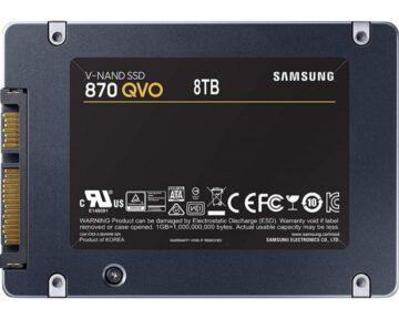 Samsung SSD 870 QVO [ 8TB ]