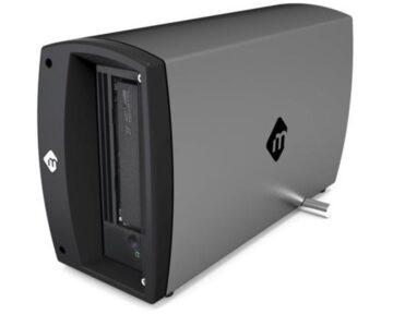 mLogic mTape LTO-8 Tape Drive [ 2x Thunderbolt 3 ]