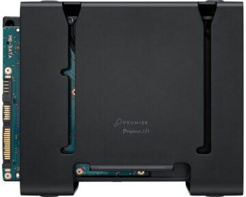 Promise Pegasus J2i 8TB [ Mac Pro intern ]
