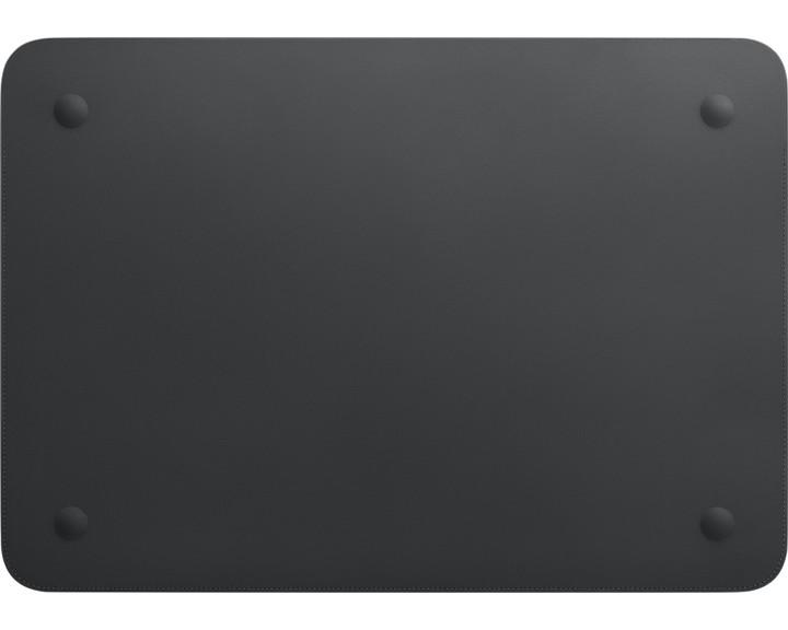 """Apple Leather Sleeve Black [ MacBook Pro 16"""" ]"""