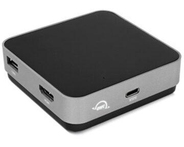 OWC USB-C Travel Dock [ Space Gray ]