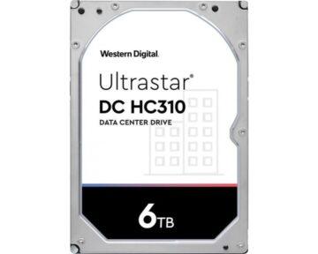 WD Ultrastar 6TB [ HC310   SATA ]