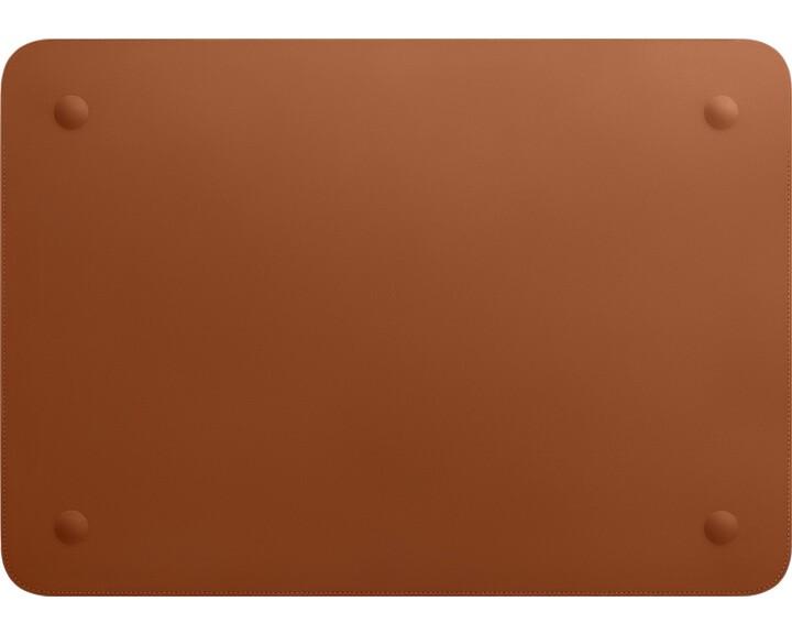 "Apple Leather Sleeve Saddle Brown [ MacBook Pro 16"" ]"