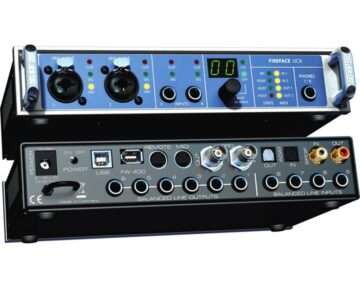 RME Fireface UCX [ FW400 USB2 ]
