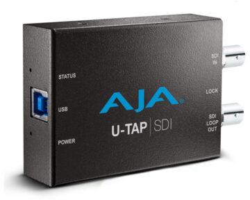 Aja U-Tap [ USB3 SDI ]
