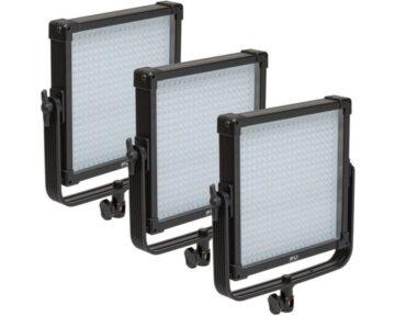 F&V K4000S SE Bi-Color 3-light kit [ 3x 400 LEDs 3200K - 5600K ]