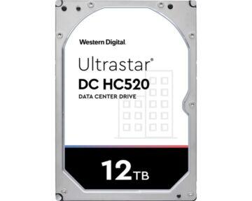 WD Ultrastar 12TB [ HC520   SATA ]