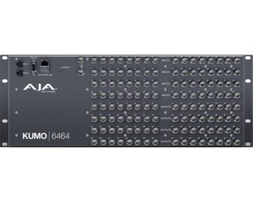 Aja Kumo 6464 3G/HD/SD 4RU SDI router 64x64