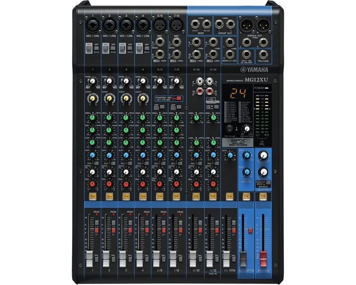 Yamaha MG12XU Mixer [ USB2 ]