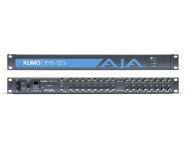Aja Kumo 1616-12G [ 16x16 12G-SDI Router ]