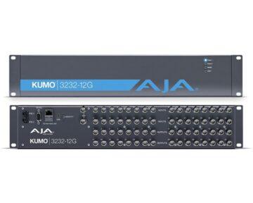 Aja Kumo 3232-12G [ 32x32 12G-SDI Router ]