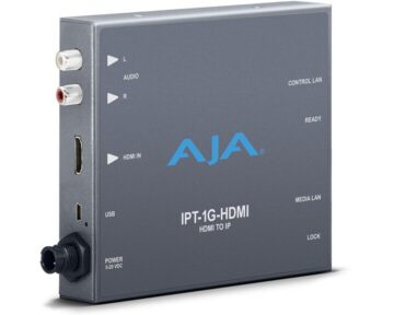 Aja IPT-1G-HDMI Mini Converter [ HDMI to JPEG2000 IP ]