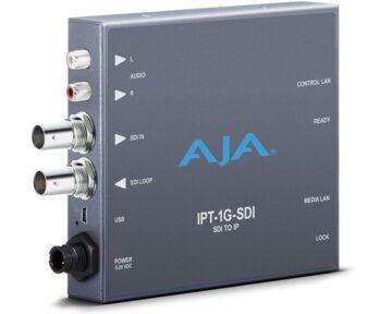 Aja IPT-1G-SDI Mini Converter [ 3G-SDI to JPEG2000 IP ]
