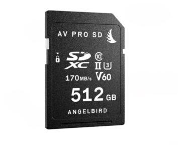Angelbird AV PRO SD V60 512GB [ SDXC UHS-II ]