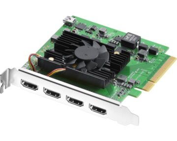Blackmagic Design DeckLink Quad HDMI [ 4 HDMI in ]